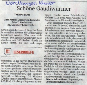 Nordbayer. Kurier, Nov. 2015